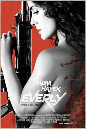 Everly (film) - Theatrical release poster