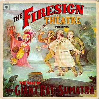 The Tale of the Giant Rat of Sumatra - Image: FST Tale of the Giant Rat of Sumatra album cover