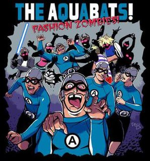 Fashion Zombies! 2005 song performed by The Aquabats