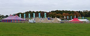 Bridget Jones's Baby - Set, Windsor Great Park, as Glastonbury