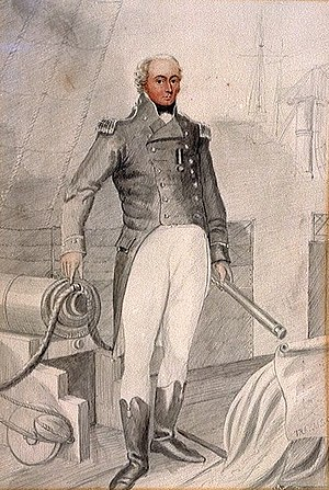 George Johnstone Hope -  Rear Admiral Sir George Johnstone Hope