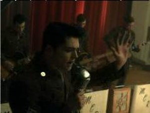 The Ghost of You - A screenshot of the video.