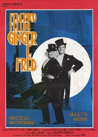 Ginger and Fred - Italian film poster