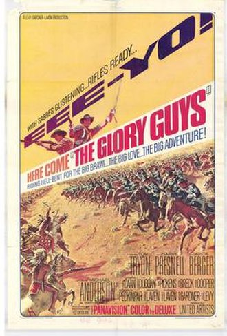 The Glory Guys - Original film poster by Frank McCarthy