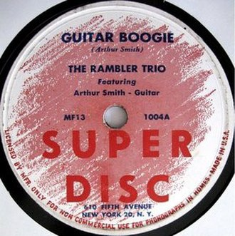 Guitar Boogie (song) - Image: Guitar Boogie single cover