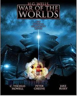 <i>H. G. Wells War of the Worlds</i> (The Asylum film) 2005 film by David Michael Latt, produced by The Asylum