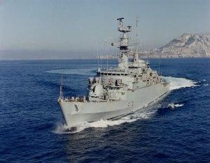 HMS Alacrity (F174) - HMS Alacrity