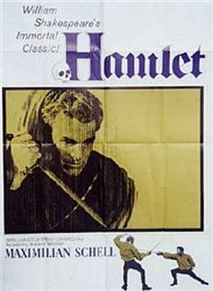 Hamlet (1961 film) - Image: Hamlet 1961 poster