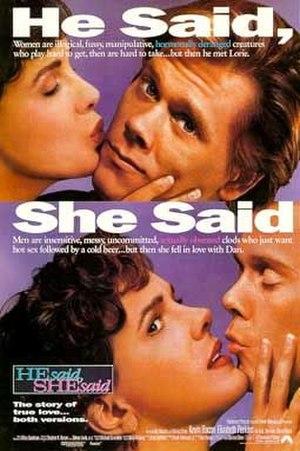 He Said, She Said - Image: He said she said