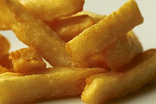 Triple-cooked chips Type of chips or deep-fried potato