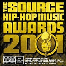 Music on The Source Hip Hop Music Awards 2001   Wikipedia  The Free