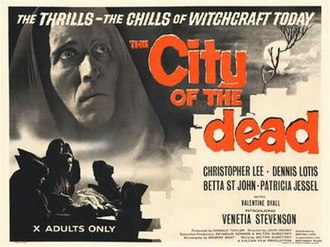 The City of the Dead (film) - Image: Horror Hotel poster