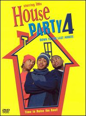 House Party 4: Down to the Last Minute - DVD cover