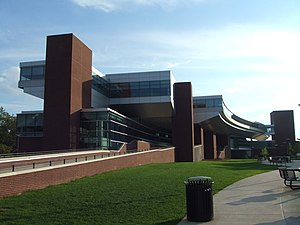 Information Sciences and Technology Building - North side view of the IST building