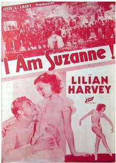 <i>I Am Suzanne</i> 1933 film