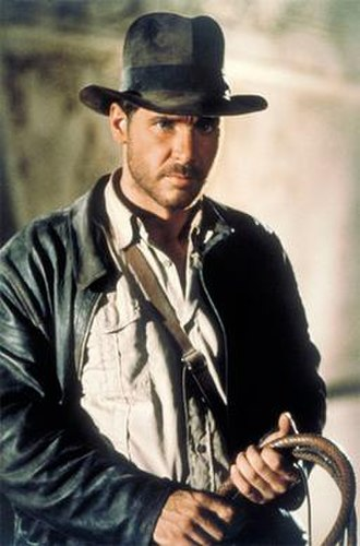 Indiana Jones - Harrison Ford as Indiana Jones in Raiders of the Lost Ark