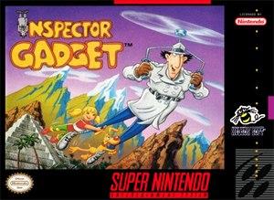Inspector Gadget (video game) - Cover art