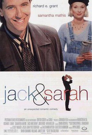 Jack and Sarah - Original film poster (US)