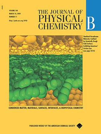Journal of Physical Chemistry B - Image: Journal of Physical Chemistry B