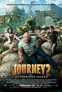 <i>Journey 2: The Mysterious Island</i> 2012 film by Brad Peyton