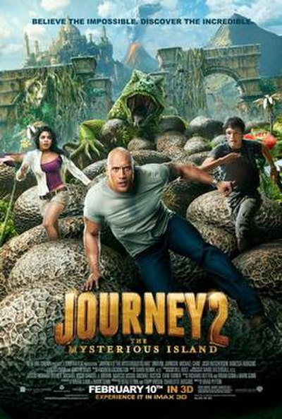 Picture of a movie: Journey 2: The Mysterious Island
