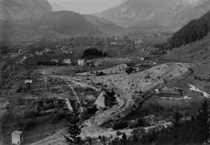 Kandersteg International Scout Centre - Picture of the campsite in the 1920s