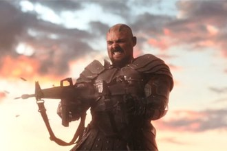 Executioner (comics) - Karl Urban as Skurge in the 2017 film Thor: Ragnarok