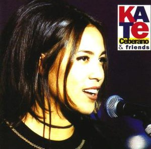 Kate Ceberano and Friends - Image: Kate Ceberano and Friends album art work