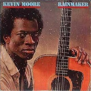 Chocolate City Records - Kevin Moore on 1980 Rainmaker album cover (Chocolate City CCLP 2015)