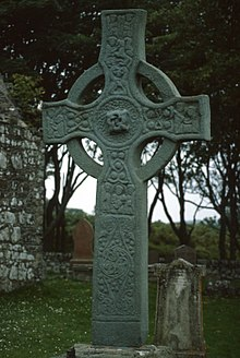 Perfect Kildalton Cross AD 800 Islay, Scotland