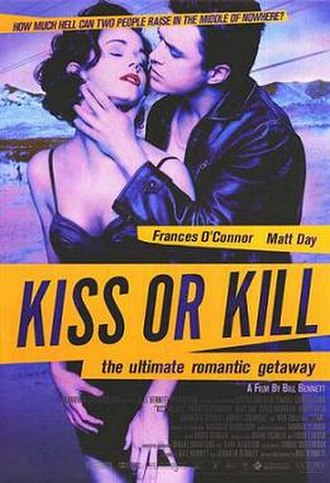 Kiss or Kill (film) - Theatrical release poster