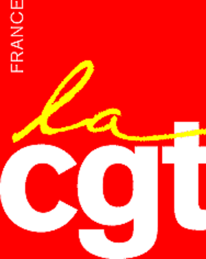 General Confederation of Labour (France) - Image: La CGT logo