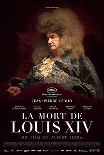 <i>The Death of Louis XIV</i> 2016 film by Albert Serra