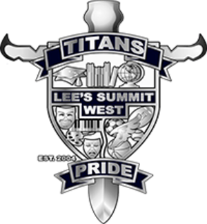 Lee's Summit West High School - Image: Lee's Summit West High School logo