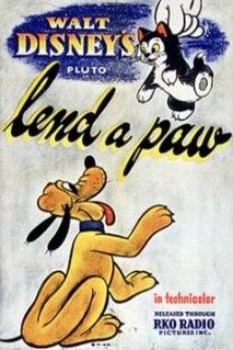 <i>Lend a Paw</i> 1941 Mickey Mouse cartoon