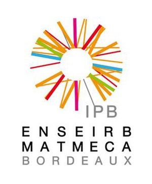 École nationale supérieure d'électronique, informatique, télécommunications, mathématique et mécanique de Bordeaux - Image: Logo ENSEIRB MATMECA