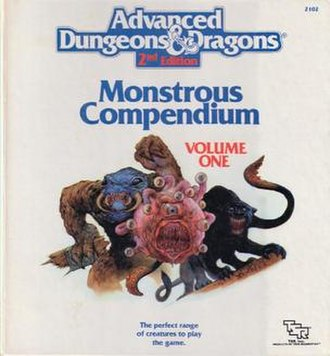 Monstrous Compendium - MC1, Monstrous Compendium, Volume One