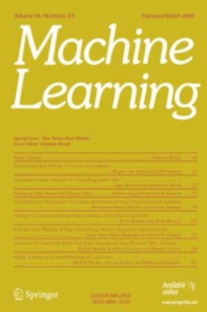 Machine Learning (journal) - Image: Machine Learning (journal)