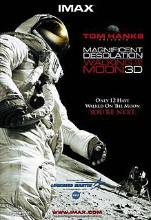 <i>Magnificent Desolation: Walking on the Moon 3D</i> 2005 film directed by Mark Cowen