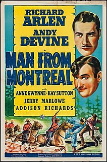 <i>Man from Montreal</i> 1939 film directed by Christy Cabanne