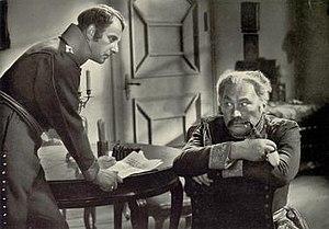 Marshal Forwards (film) - Paul Wegener (right) as Blücher