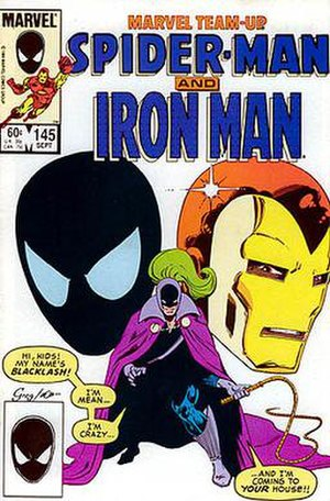 Whiplash (comics) - Image: Marvel Team Up 145