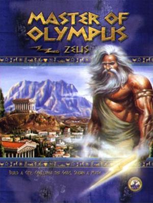 Zeus: Master of Olympus - Image: Master of Olympus Zeus Coverart