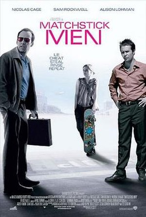 Matchstick Men - Theatrical release poster