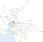 Melbourne trams route 3 map.png