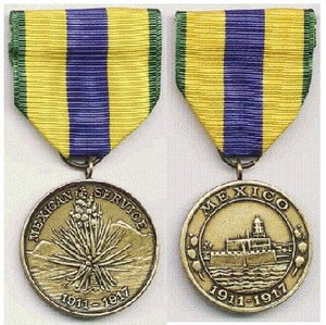 United States involvement in the Mexican Revolution - Mexican Service Medal