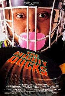 <i>The Mighty Ducks</i> (film) 1992 film directed by Stephen Herek