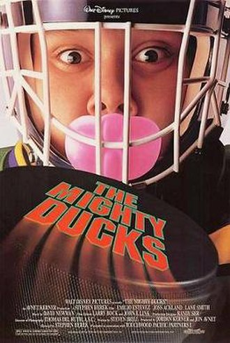 The Mighty Ducks - Theatrical release poster