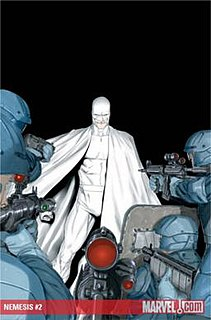 <i>Nemesis</i> (Icon Comics) Comic book series, 2010