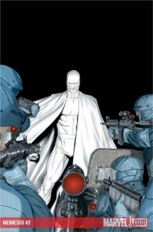 Nemesis (Icon Comics) - Image: Millar Nemesis